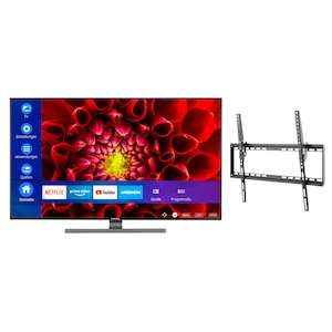 MEDION® LIFE® S16512 163,8 cm (65'') Ultra HD Smart-TV + GOOBAY Basic TILT (L) Wandhalterung - ARTIKELSET