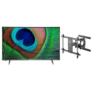 MEDION® LIFE® X15532 138,8 cm (55'') Ultra HD Android TV + GOOBAY Pro FULLMOTION (L) Wandhalterung - ARTIKELSET