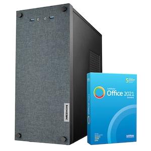 MEDION® AKOYA® E42025, Intel® Core™ i3-9100, Windows10Home, 512 GB SSD, 8 GB RAM, Multimedia PC,  inkl. SoftMaker Office Standard 2021