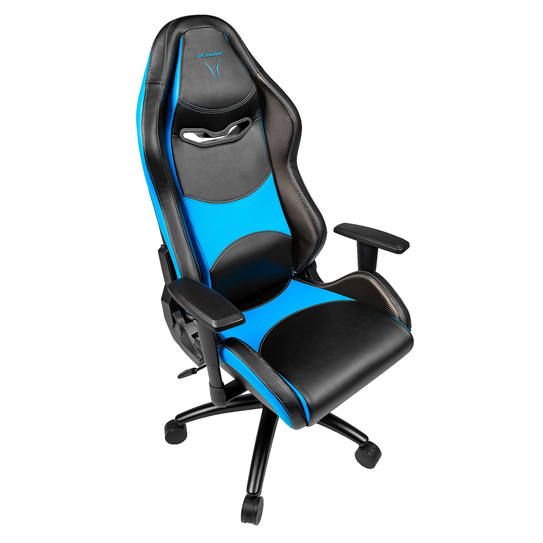 MEDION® ERAZER® X89070 Gaming Stuhl, stilvoll und komfortabel, sportliche Optik und hochwertige Materialien, viele Einstellungsmöglichkeiten