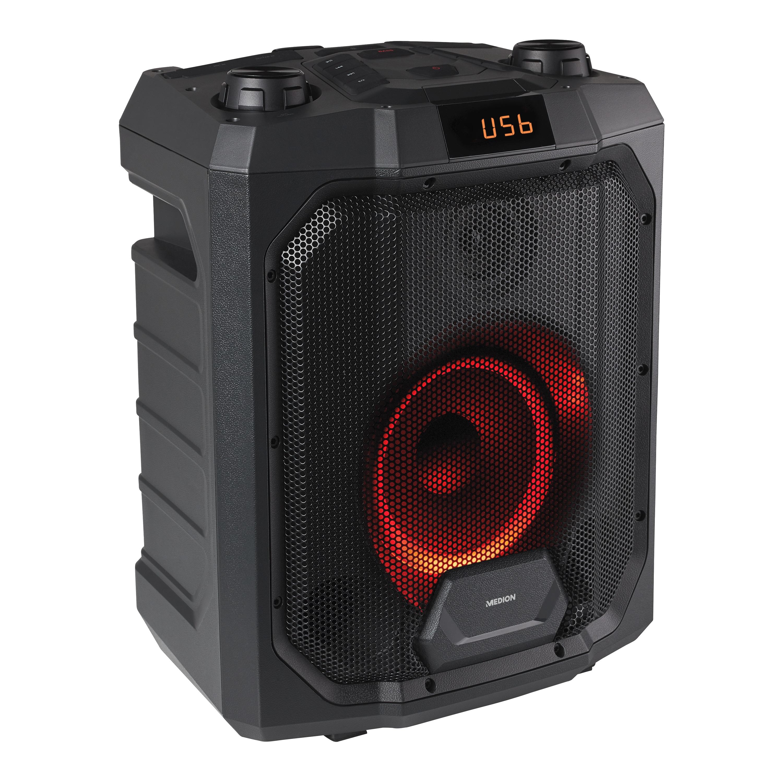 MEDION® LIFE P61988 Trolley Party Speaker | USB / MP3 player | Bluetooth 4.2 | 500 Watt max. | Krachtige bas