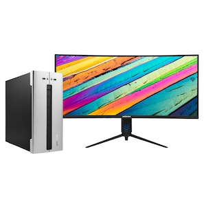 MEDION® BundleDeal ! AKOYA® E62028 Multimedia PC & X53411 34'' Curved Widescreen Monitor