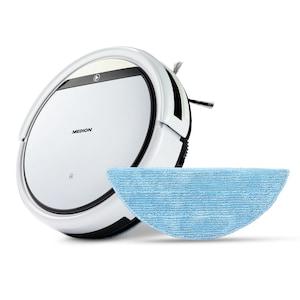 MEDION® Robot stofzuiger met dweilfunctie MD 18501 | Programmeerbaar | 2600 mAh accu | Afstandsbediening | virtuele muur | voor gladde vloeren en tapijt | automatisch terug naar oplaadstation