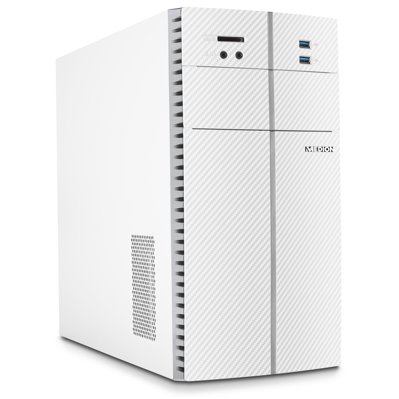 MEDION® AKOYA E32007 Multimedia PC | AMD Ryzen 5 | Windows10Home | Radeon RX Vega 11 | 8 GB RAM |  256 GB SSD | 1 TB HDD