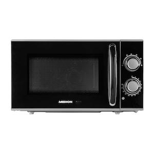 MEDION® Four micro-ondes MD 15644 | Puissance 700 Watt | Capacité 17 litres | 6 niveaux de puissance | Fonction décongélation