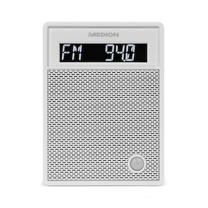 MEDION® LIFE P65702 Stopcontactradio   LCD-display   NFC   PLL-FM-radio   Handsfree-functie   USB