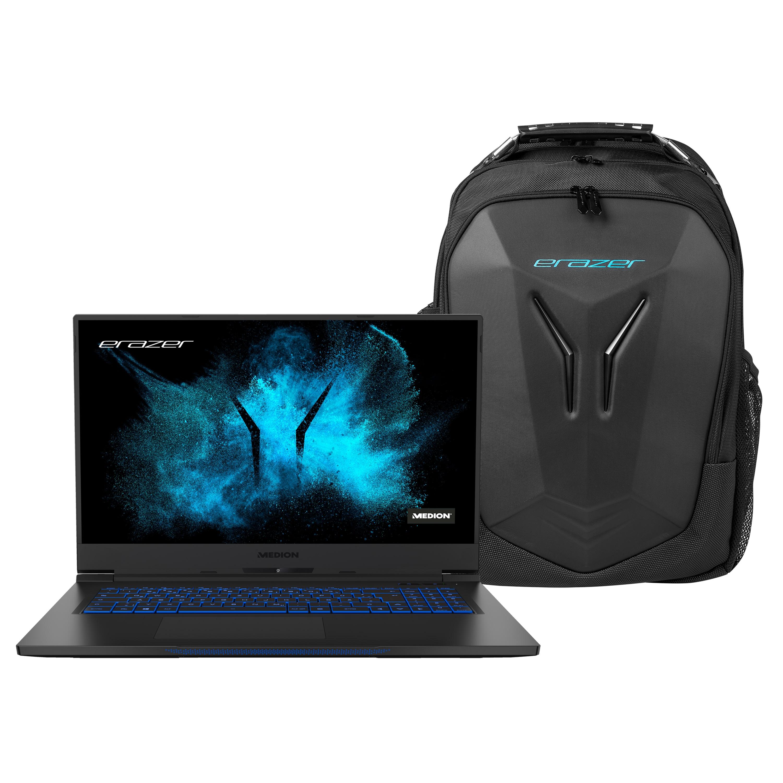 MEDION® BundelDEAL ! ERAZER Beast X10 | Intel Core i7 | Windows10Home | GeForce RTX 2070 Super | 17,3 inch Full HD | 32 GB | 1 TB SSD