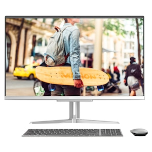 MEDION® AKOYA E27301 All-in One PC | AMD Ryzen 5 | Windows 10 Famille | Radeon Vega 8 | 27 pouces Full HD | 8 Go RAM | 512 Go SSD
