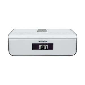 MEDION® DAB+ LIFE Radio P66258 (Wit) | LC-display | Achtergrondverlichting | PLL-FM | Handmatig en automatisch zenders zoeken