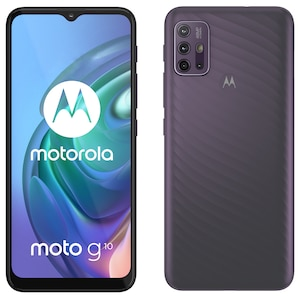 MOTOROLA moto g10 Smartphone, 16,51 cm (6,5) HD+ Display, Android™ 11, 64 GB Speicher, 4 GB Arbeitsspeicher, Octa-Core-Prozessor, Bluetooth® 5.1