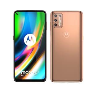 MOTOROLA moto g9 plus smartphone | 17,27 cm (6,8) écran FHD+ | Android™ 10 | 128 Go de mémoire | 4 Go de mémoire | processeur octa-core | Bluetooth® 5.0