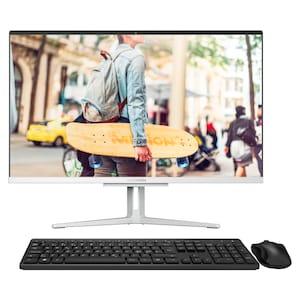 MEDION® AKOYA® E23403, Intel® Core™ i3-1005G1, Windows10Home, 60,5 cm (23,8) FHD Display, 256 GB SSD, 8 GB RAM, Aluminium-Design, All-in-One PC (B-Ware)