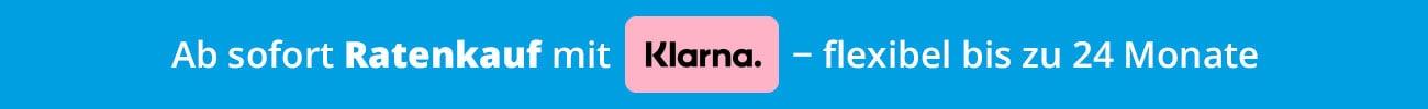 Ratenkauf mit Klarna