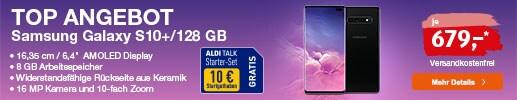 ALDI TALK - Top Angebot: Samsung Galaxy S10 Plus für 679 Euro