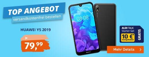 TOP ANGEBOT bei ALDI TALK - Huawei Y5 2019 für 79,99 €