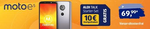 Motorola moto e5 bei ALDI TALK