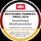ALDI TALK gewinnt den Deutschen Fairness-Preis 2019
